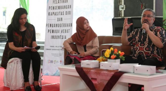 Ketua Umum Perkumpulan Penyandang Disabilitas Indonesia (PPDI), Ghufron Sakaril