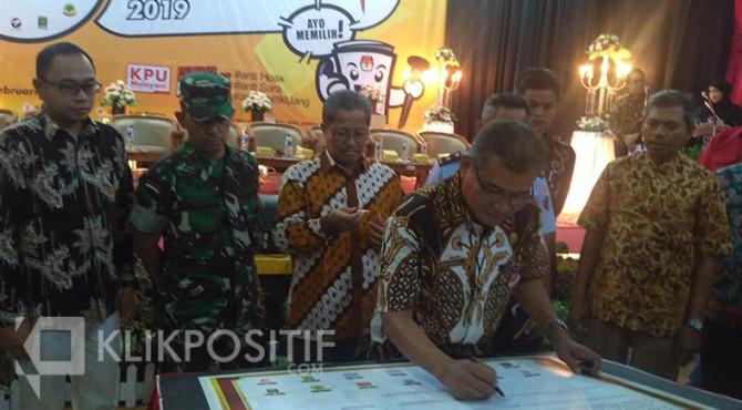 Deklarasi kampanye Pemilu damai