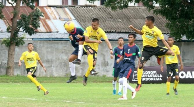PSP Padang dikalahkan Wakil Banten di babak Delapan Besar Liga Nasional 2017