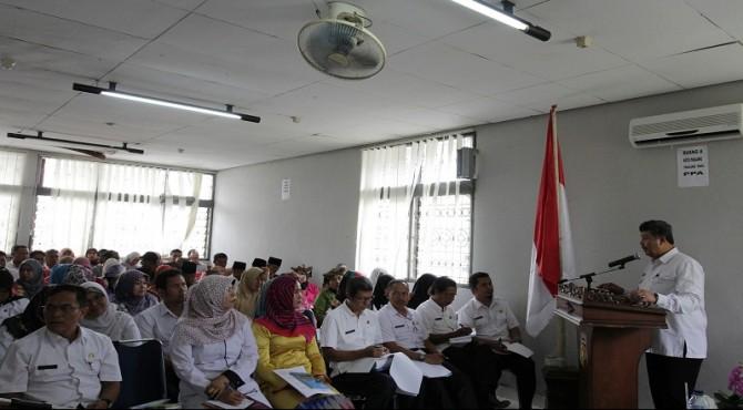 Walikota Solok meminta masyarakat mengusulkan program prioritas dalam Musrenbang.
