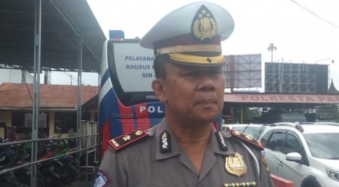 Kasatlantas Polresta Padang Kompol Asril Prasetya