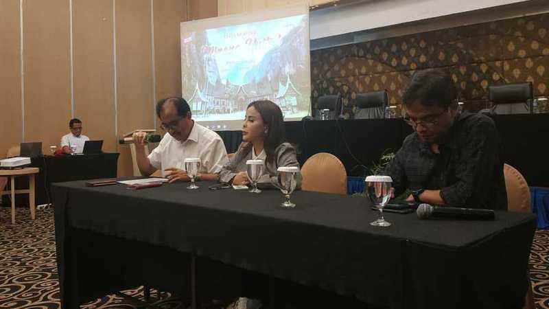 Panitia penyelenggara Festival Minang Bersatu