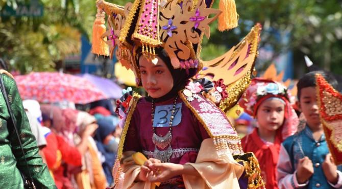 Sawahlunto International Songket Silungkang Carnival 2018