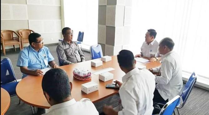 Wakil Bupati Solsel, Abdul Rahman dan OPD terkait mendatangi Badan Siber dan Sandi Negara (BSSN) di Depok, Jawa Barat, Selasa (17/9)