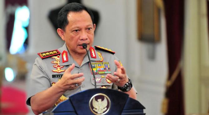 Kepala Kepolisian Indonesia Jenderal Tito Karnavian