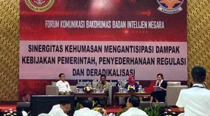 Forum Koordinasi Antar Humas Kementeriaan dan Lembaga
