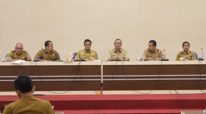 Rapt koordinasi Pemko Payakumbuh jelang dikunjungi tim penilai PPD Nasional.