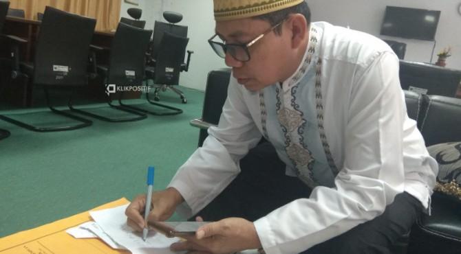 Kepala Biro Bina dan Mental Setdaprov Sumatera Barat, Syaifullah