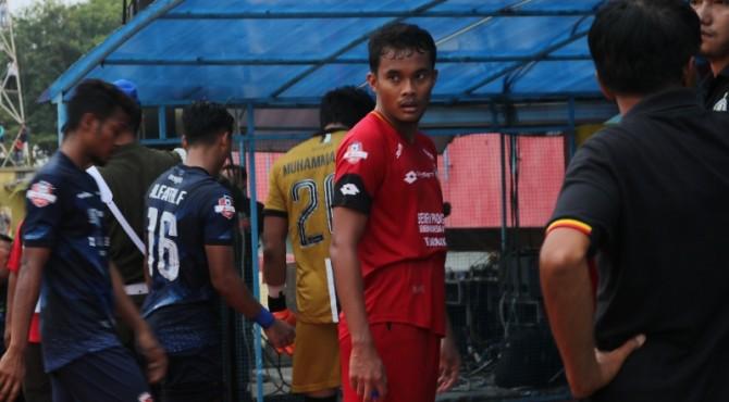 Pemain belakang Semen Padang FC, Muhammad Rifqi