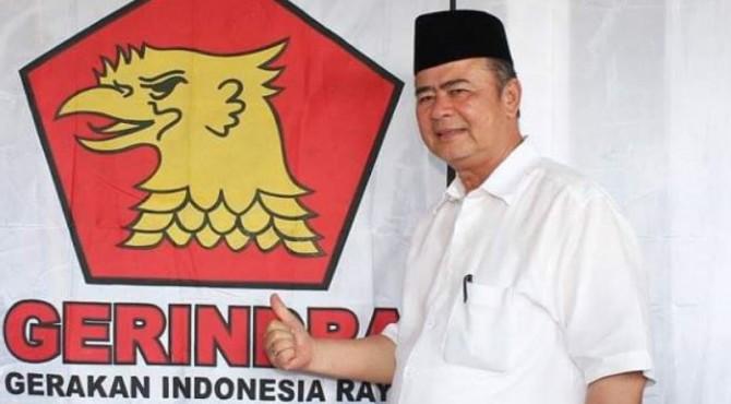 Ketua DPD Gerindra Sumbar Nasrul Abit