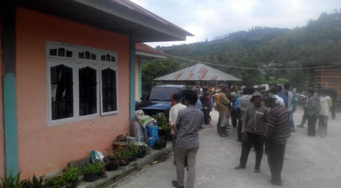 Suasana di Lembang Jaya yang sudah mulai kondusif