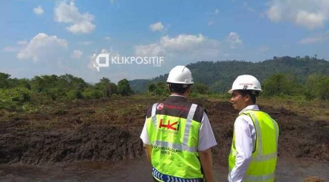 Pembukaan kerangka tol Padang-Pekanbaru oleh Hutama Karya