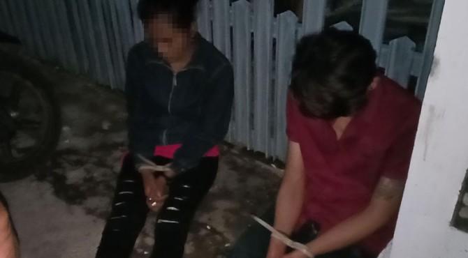 Salah satu pengungkapan kasus narkoba saat Operasi Antik 2019 di Bukittinggi