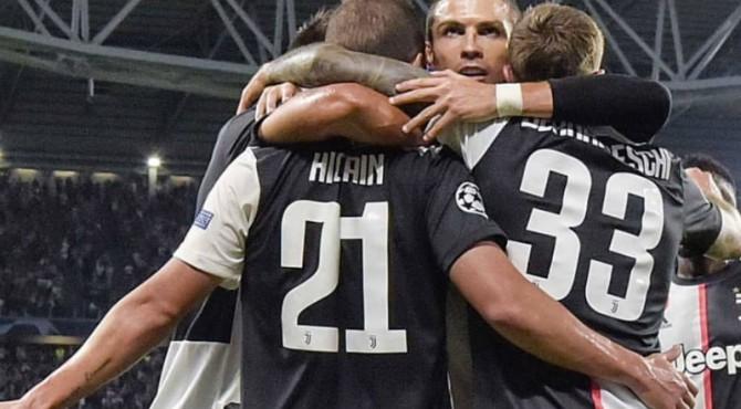 Juventus menang telak atas Bayern Leverkusen