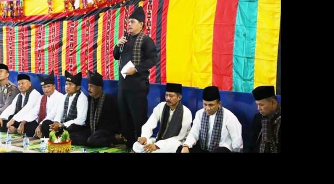 Wawako Solok, Reinier buka Batamek Pidato Adat kota Solok