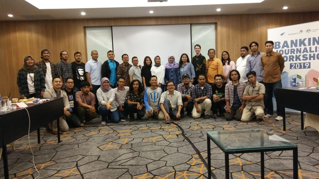 Peserta Banking Journalist Workshop