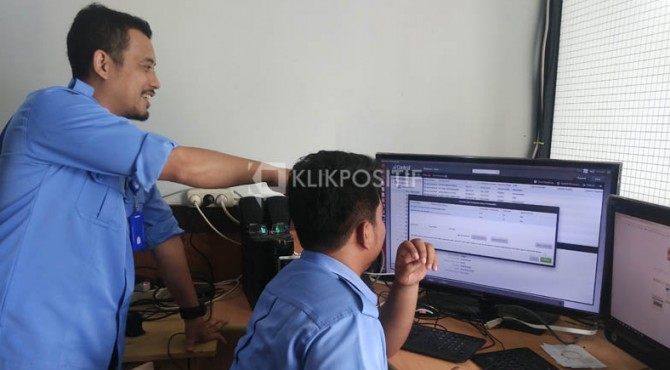 Tim monitoring dari Dinas Kominfo Payakumbuh