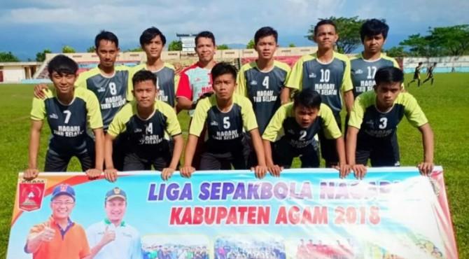 Pemenang Liga Nagari 2018, Nagari Tiku Selatan