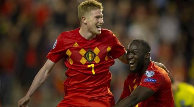 Belgia menjadi tim pertama yang lolos ke partai puncak Euro 2020