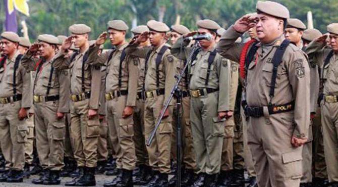 HUT Satpol PP ke-66 Dipusatkan di Payakumbuh