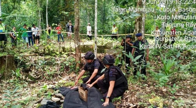 Penjinak bom amankan granat tangan di Agam