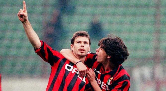 Pemain Ac Milan tahun 90-an Zvonimir Boban