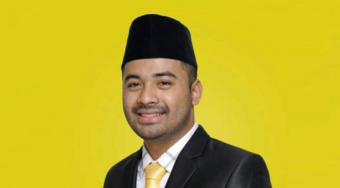 Foto Ketua DPRD Solok Selatan sementara Zigo Rolanda