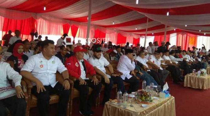 Kepala Daerah yang ikut kampanye Jokowi di Pantai Padang