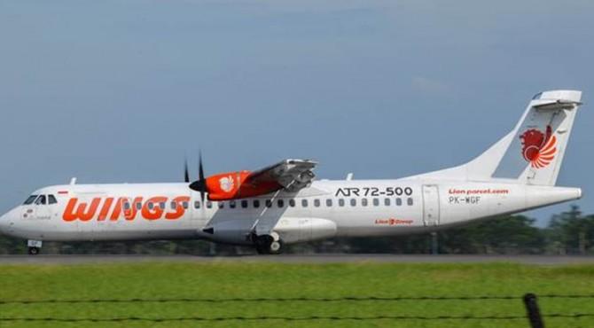 Wings Air dengan pesawat ATR 72-500