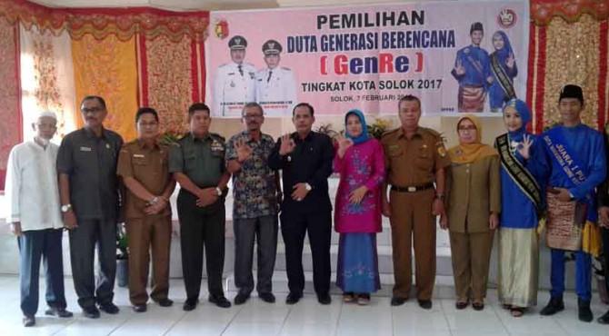Pemilihan Duta GenRe Kota Solok 2017.