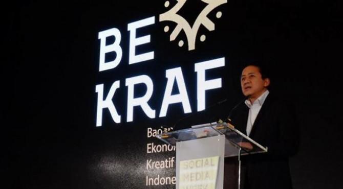 Kepala Badan Ekonomi Kreatif (Bekraf) Triawan Munaf.