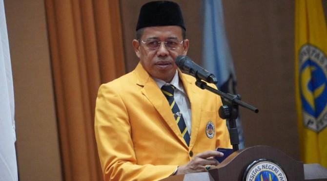 Rektor UNP, Ganefri.