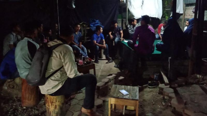 Suasana Dimas di cafe Rang Awak, Senin, 16 September 2019