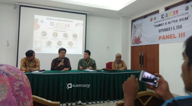 Jumpa pers penyelenggara IC ASEAN dengan awak media