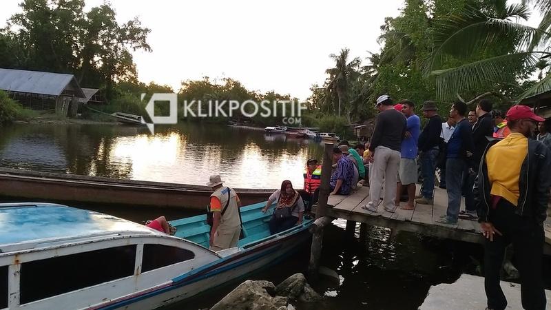 Pelabuhan mini di Saibi, Kecamatan Siberut Tengah, Mentawai