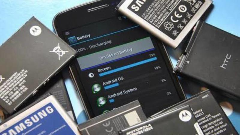 ilustrasi baterai smartphone