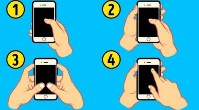 Cara memegang ponsel bisa mengungkapkan bagaimana cara Anda mencintai seseorang.