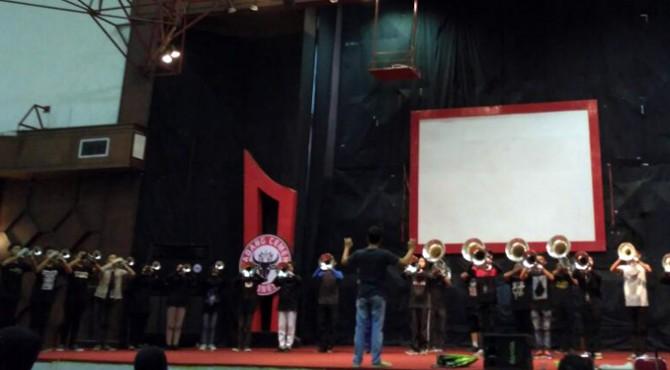 Marcing Band Semen Padang (MBSP) persiapkan diri tampil di Parents Day