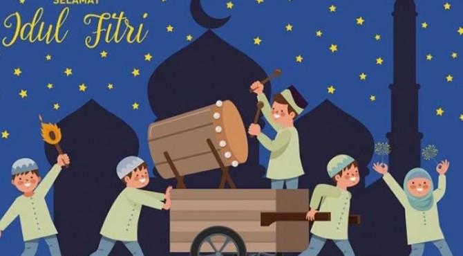 Gambar Ucapan Hari Raya Idul Fitri 1440 Hijriah