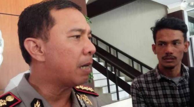Kapolresta Padang, Kombes Pol Yulmar Try Himawan.