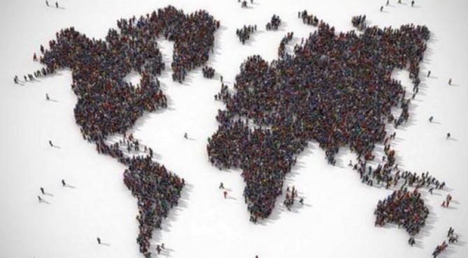 ilustrasi penduduk bumi
