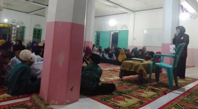 Kegiatan Tabliqh Akbar KKN UIN IB di Masjid Nurul Islam Setara Nanggalo
