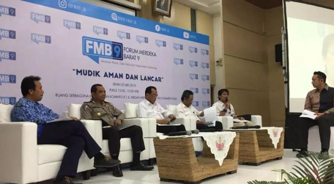 Diskusi Forum Medan Merdeka 9 (FMB9) dengan tema