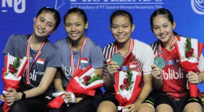 Pasangan ganda putri Indonesia yang bertemu di final Yuzu Indonesia Masters 2019