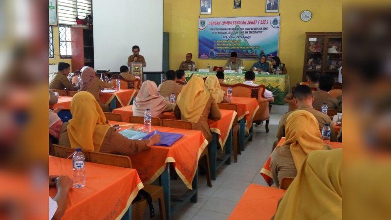 Tim Penilai LSS Tingkat Provinsi Sumbar di SMA Negeri 2 Sijunjung
