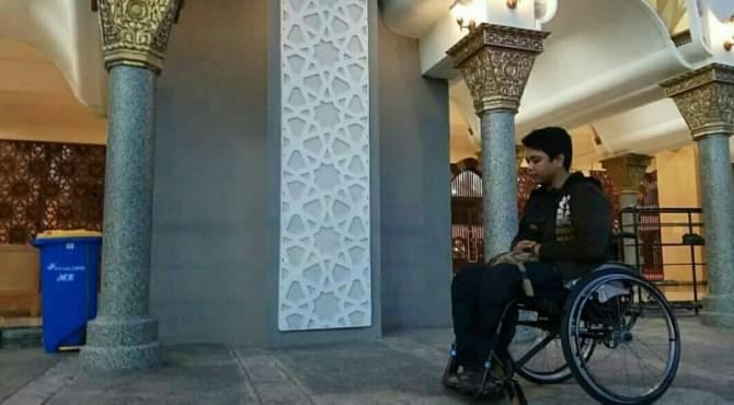 Disabilitas di Masjid Raya Sumbar