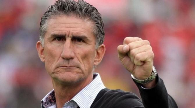 Pelatih Timnas Argentina, Edgardo Bauza.
