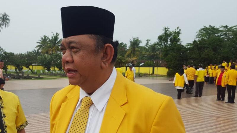 Ketua DPD Golkar Sumbar Hendra Irwan Rahim