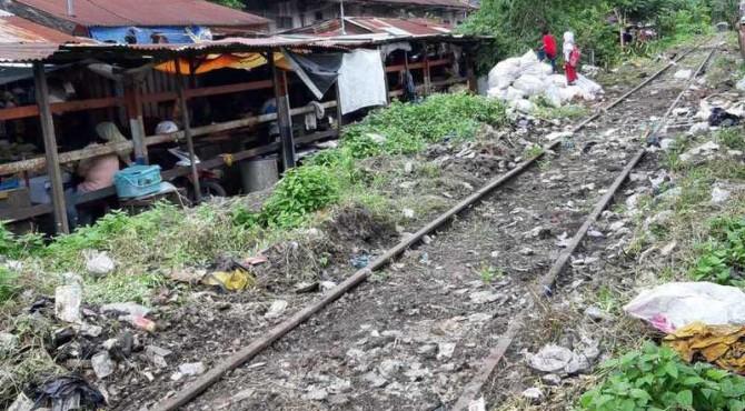 Rela Kereta Api Padang-Pulau Aie