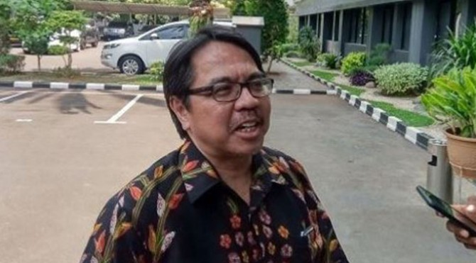 Ade Armando memenuhi panggilan Polda Metro Jaya terkait meme Anies mirip Joker, Rabu (20/11/2019).